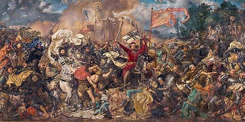 La bataille de Grunwald par Jan Matejko (1875-1878)
