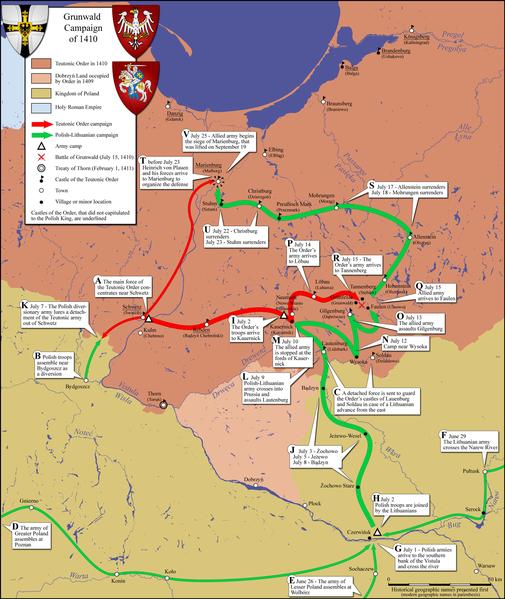 La campagne de Tannenberg